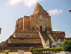 Broken Chedi with long history