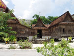 The Thai-style monks' residence of Wat Wang Tawan Tok