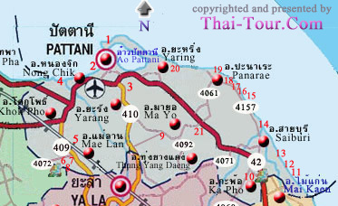 Pattani Thailand Map.Index Of Include Old Thai Tour South Pattani Images