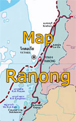Map of Ranong